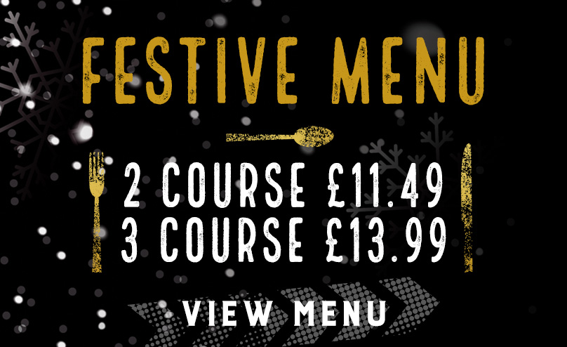 Festive Menu at The Gardeners Arms