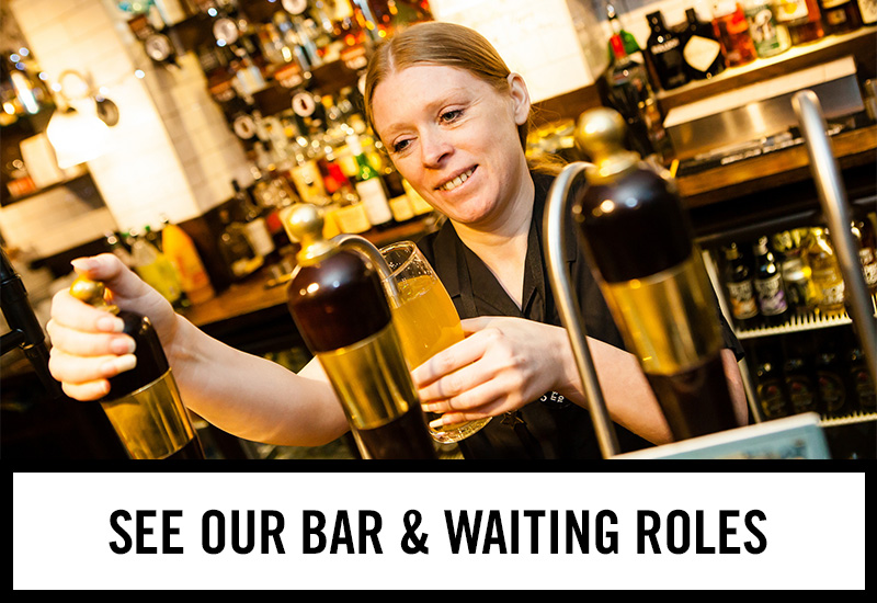 Bar roles at The Gardeners Arms