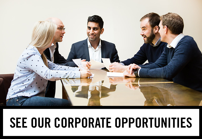 Corporate opportunities at The Gardeners Arms