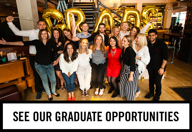 Graduate opportunities at The Gardeners Arms