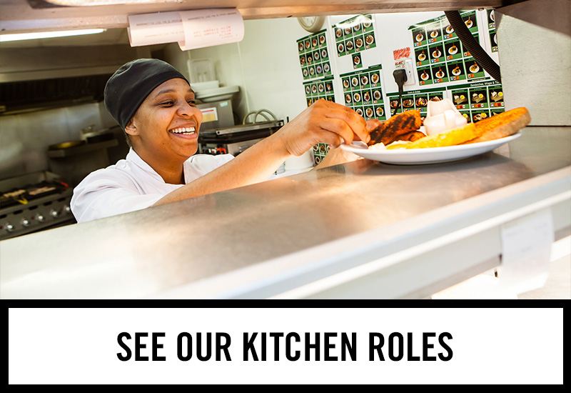 Kitchen roles at The Gardeners Arms